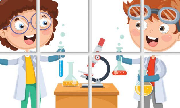 Dzień Chemika: Dekoracje XXL (10 szablonów)
