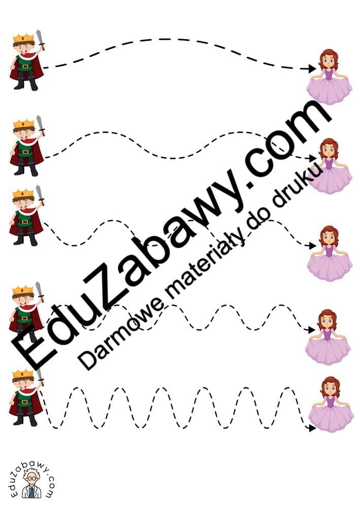 Dzień postaci z bajek: Szlaczki (10 kart pracy) Dzień postaci z bajek Karty pracy Karty pracy (Dzień Postaci z Bajek) Szlaczki
