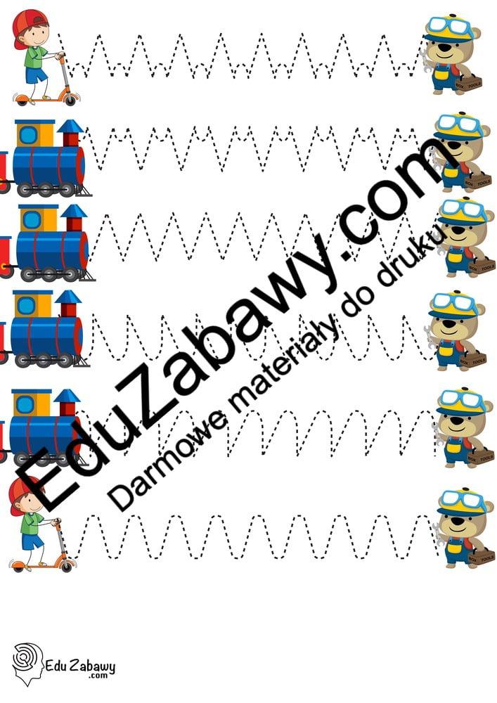 Dzień Chłopaka: Szlaczki (10 kart pracy) Dzień Chłopaka Karty pracy Karty pracy (Dzień Chłopaka) Szlaczki