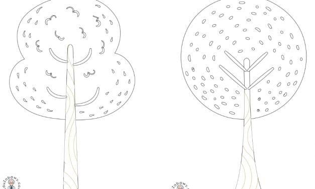 Dzień Drzewa: Kolorowanki (10 szablonów)