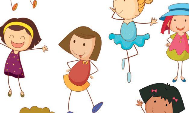 Dzień Dziewczynek: Nauka liczenia (12 kart pracy)