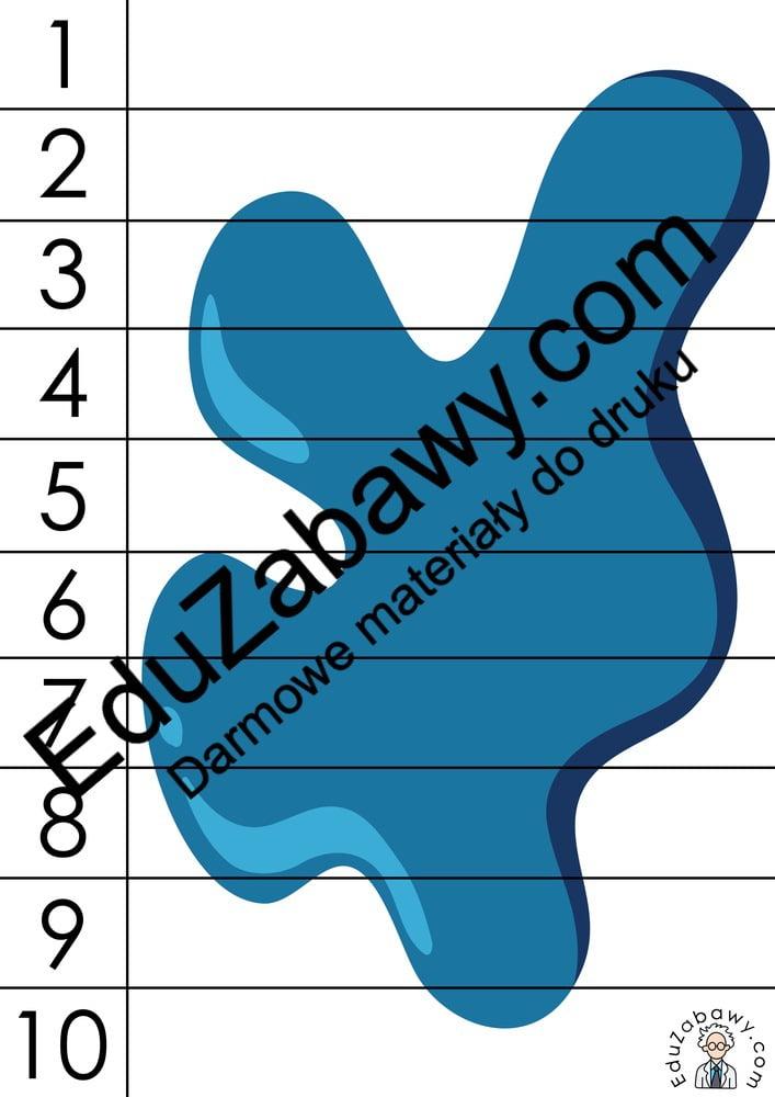 Dzień Kredki: Puzzle 10 elementów (10 kart pracy) Dzień Kredki Karty pracy Karty pracy (Dzień kredki) Puzzle