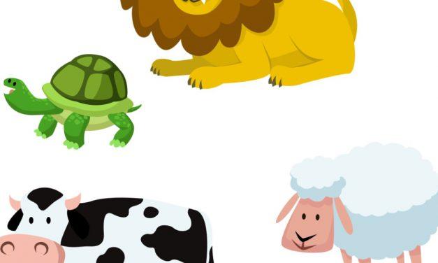 Dzień Zwierząt: Nauka liczenia (12 kart pracy)