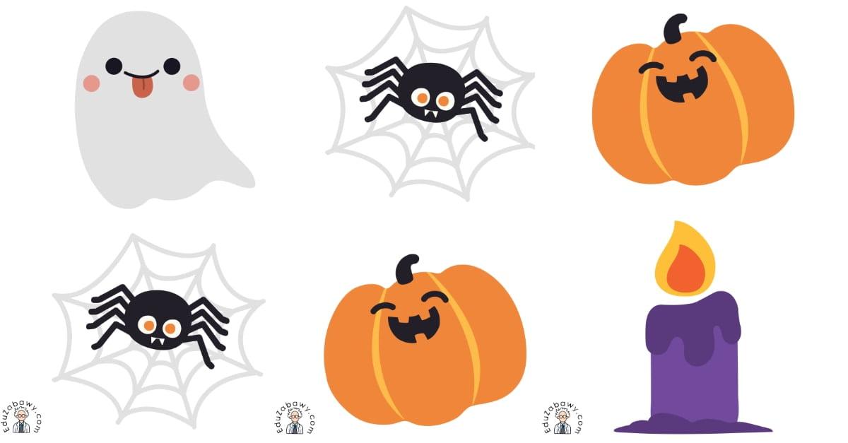 Halloween: Domino / Memory (14 kart pracy)