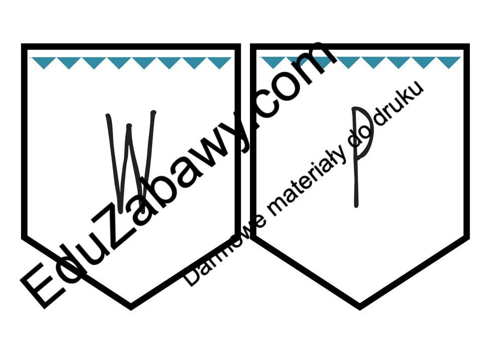 """Baner uniwersalny """"Witamy w przedszkolu"""" Anna Czerwiec Girlanda / baner Pomoce dydaktyczne Powitanie przedszkola"""