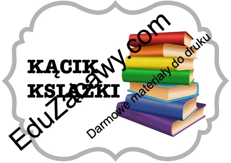 Kąciki tematyczne 2/5 - duży rozmiar Kąciki tematyczne Powitanie przedszkola Tematyczne Wrzesień