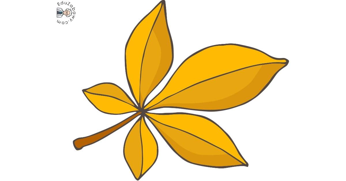 Dekoracje: Liście (10 szablonów)