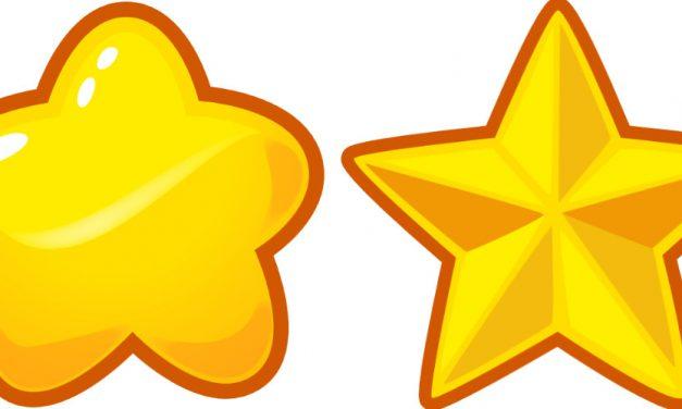 Dekoracje: Gwiazdy