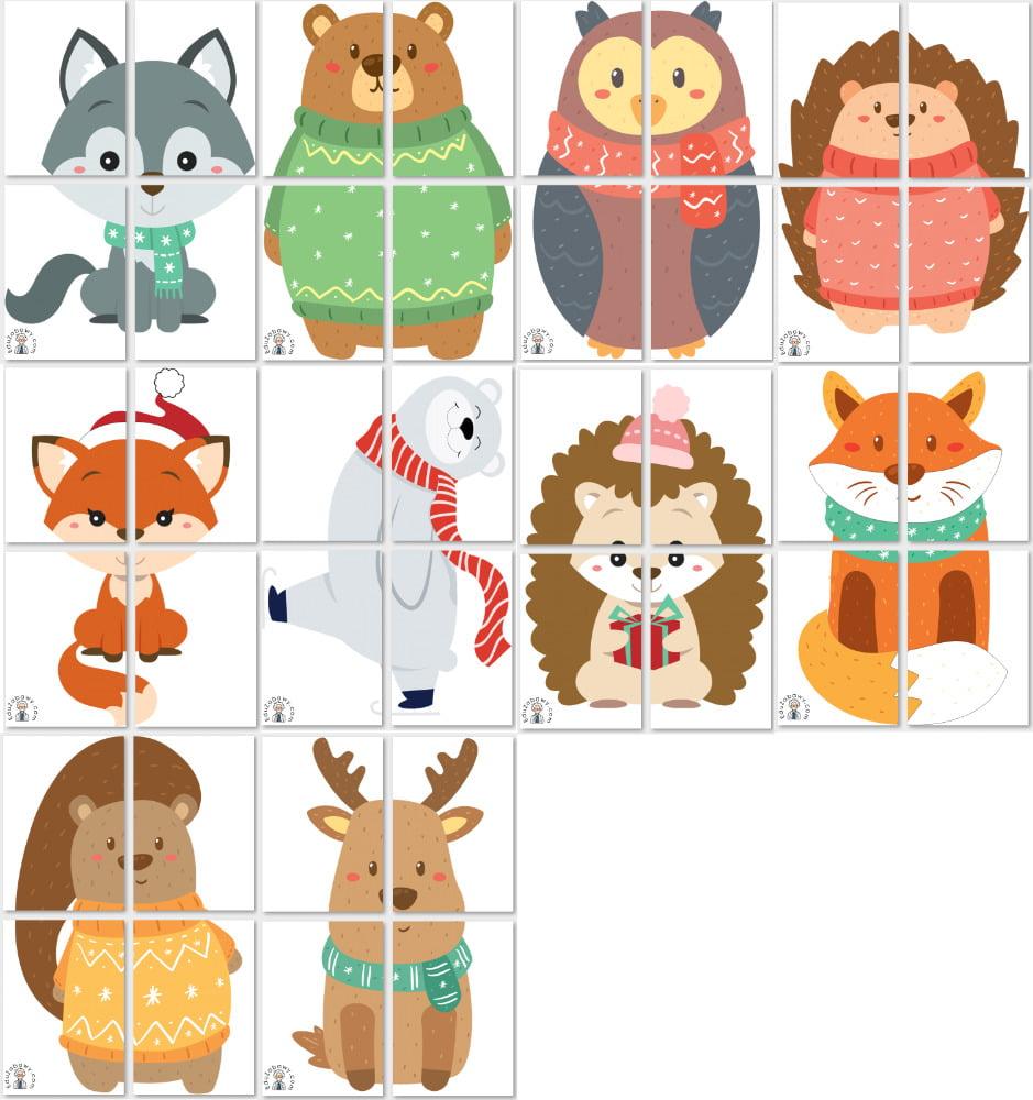 Dekoracje XXL: Zimowe zwierzęta Dekoracje Dekoracje (Zima) Zima