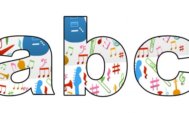 Instrumenty muzyczne: Litery małe