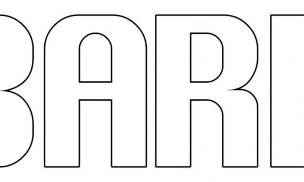 Napis Barbórka – kontury