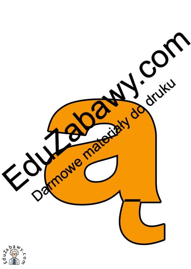 Pomarańczowe litery małe Kolorowe litery i cyfry Litery i cyfry do tworzenia napisów