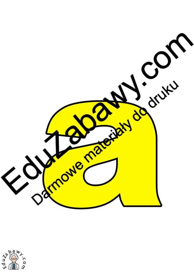 Żółte litery małe Kolorowe litery i cyfry Litery i cyfry do tworzenia napisów