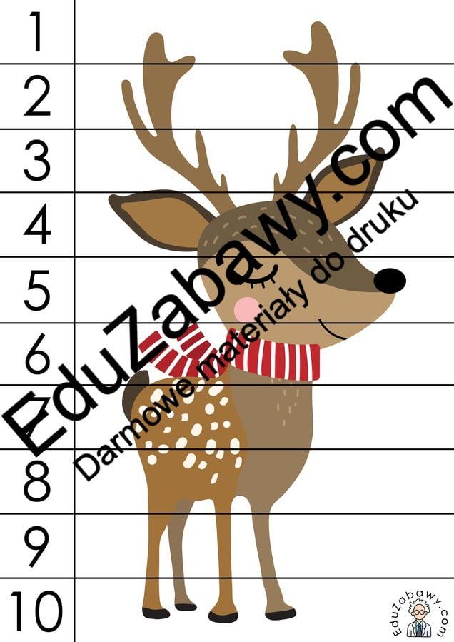 Boże Narodzenie: Puzzle 10 elementów (10 szablonów) Boże Narodzenie Karty pracy Karty pracy (Boże Narodzenie) Karty pracy (Mikołajki) Mikołajki Puzzle