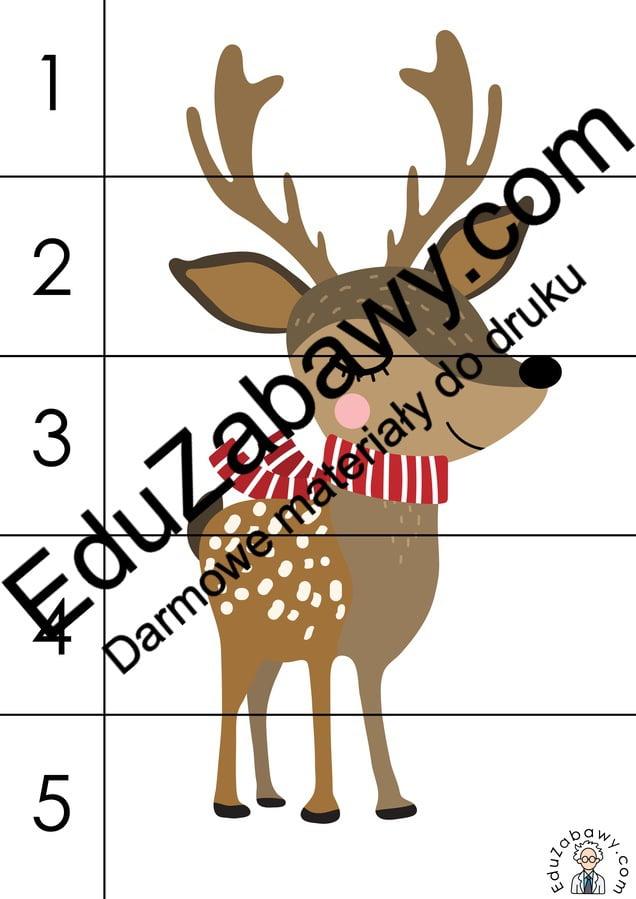 Boże Narodzenie: Puzzle 5 elementów (10 szablonów) Boże Narodzenie Karty pracy Karty pracy (Boże Narodzenie) Karty pracy (Mikołajki) Mikołajki Puzzle