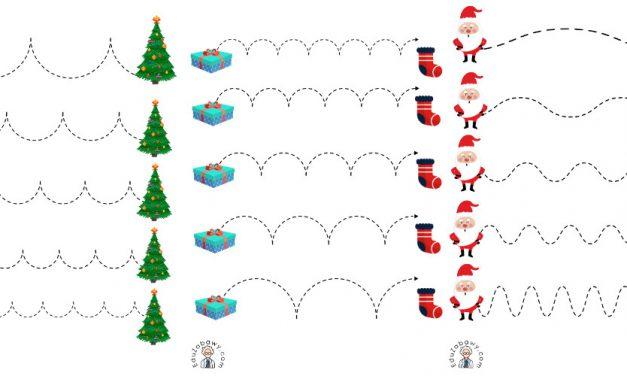 Boże Narodzenie: Szlaczki (10 szablonów)