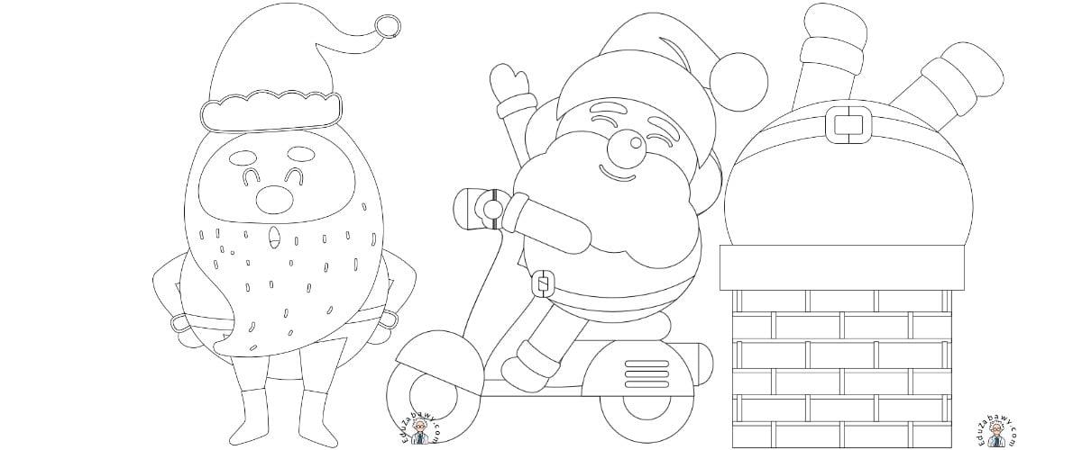 Boże Narodzenie: Kolorowanki (10 szablonów)