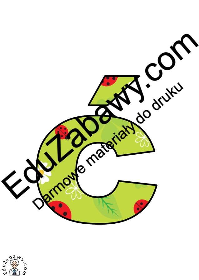 Łąka: Litery małe Litery i cyfry do tworzenia napisów Pory roku (Litery i cyfry do druku) Wiosna (Litery i cyfry)