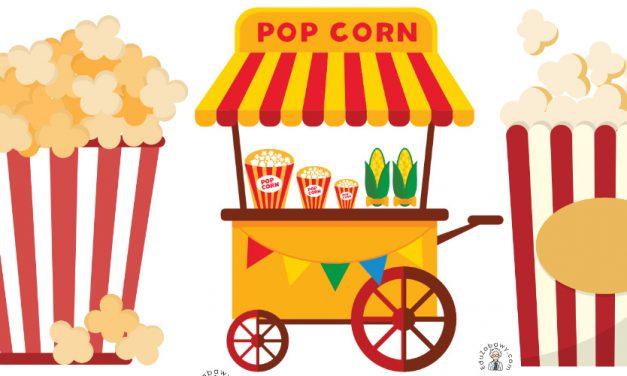 Dekoracje: Popcorn
