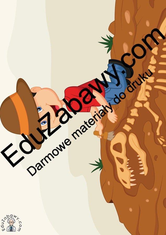 Dekoracje: Archeolog (10 szablonów) Dekoracje Dekoracje (Dzień Dinozaura) Dzień Dinozaura