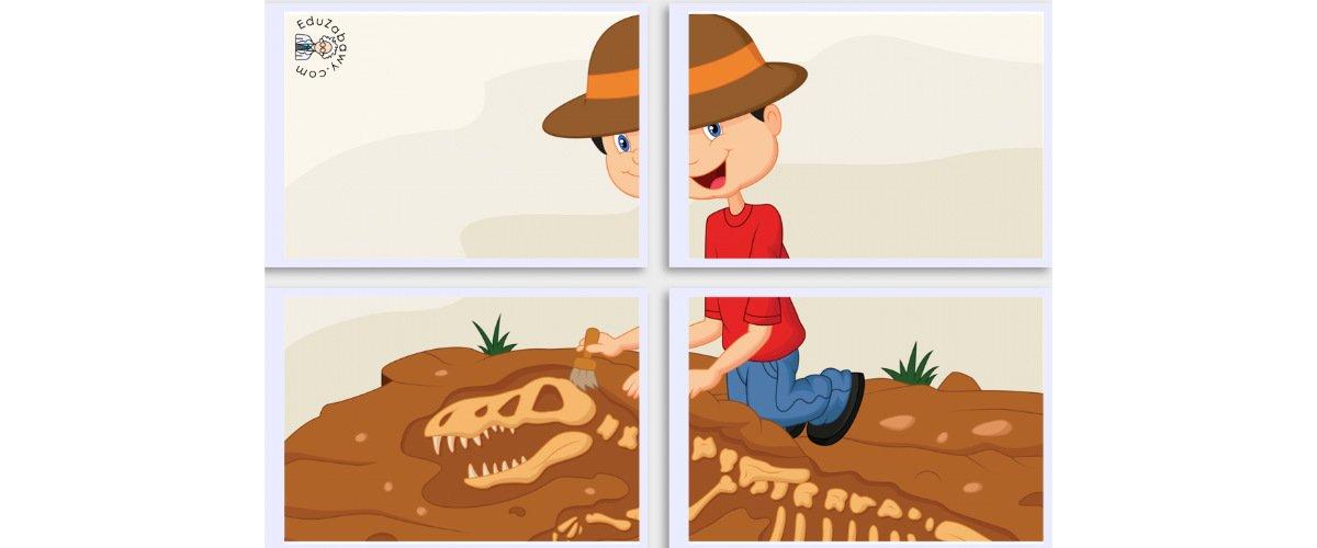 Dekoracje XXL: Archeolog (10 szablonów)