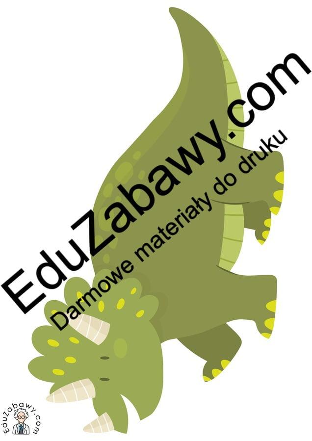 Dekoracje: Dinozaury (10 szablonów) Dekoracje Dekoracje (Dzień Dinozaura) Dzień Dinozaura