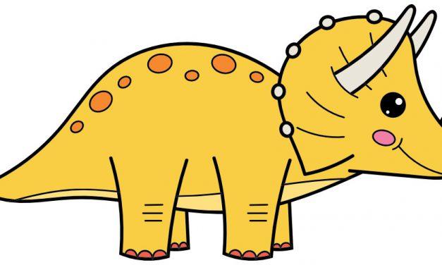 Dekoracje: Dinozaury (10 szablonów)