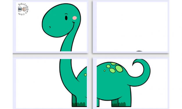 Dekoracje XXL: Dinozaury (10 szablonów)