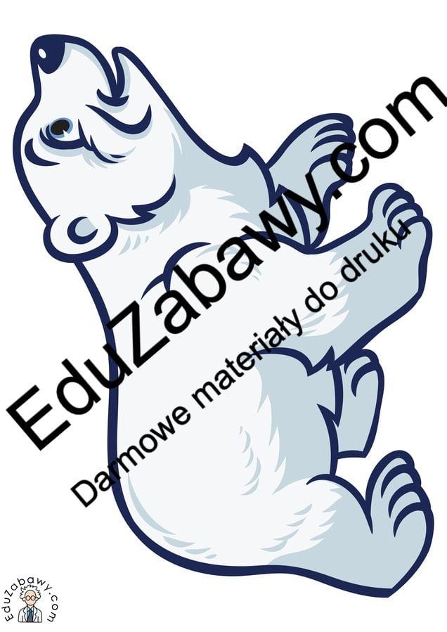 Dekoracje: Niedźwiedź Polarny (10 szablonów) Dekoracje Dekoracje (Dzień Niedźwiedzia Polarnego) Dzień Niedźwiedzia Polarnego