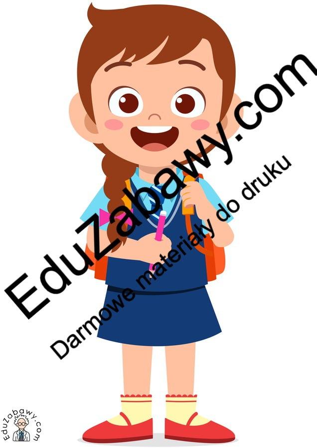 Dekoracje: Wesoła Dziewczynka (10 szablonów) Dekoracje Dekoracje (Dzień Kobiet) Dzień Pozytywnego Myślenia