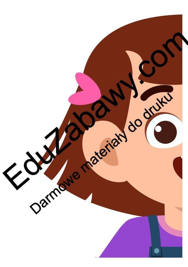Dekoracje XXL: Wesoła Dziewczynka (10 szablonów) Dekoracje Dekoracje (Dzień Kobiet) Dzień Pozytywnego Myślenia