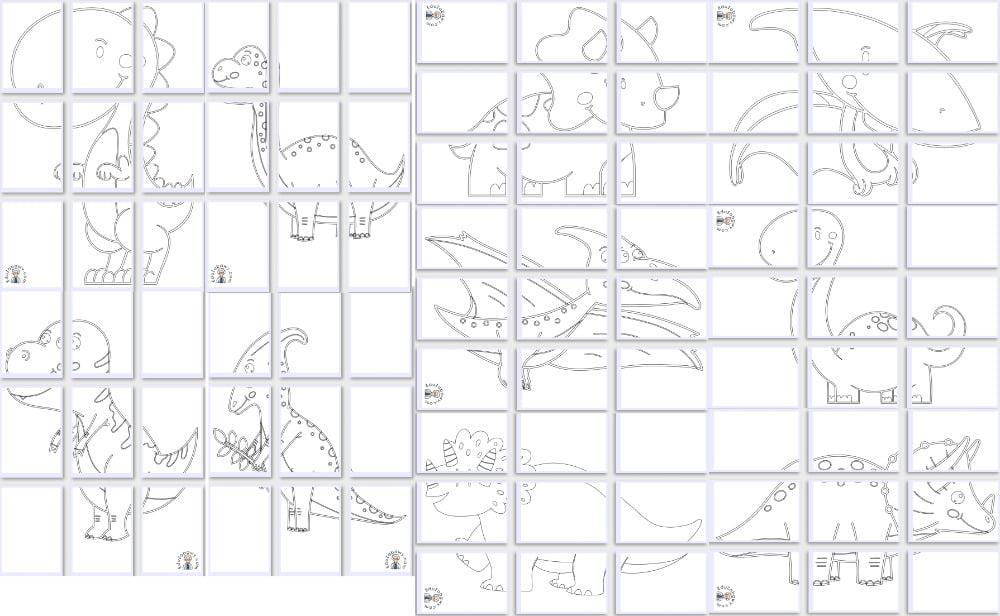 Kolorowanki XXL: Dinozaury (10 szablonów) Dzień Dinozaura Kolorowanki Kolorowanki (Dzień Dinozaura) Kolorowanki XXL