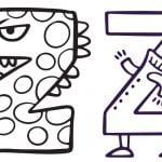 Litera Z: kolorowanki do wydruku