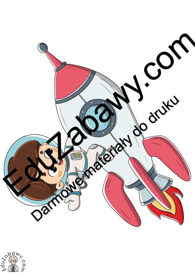 Dekoracje: Astronauta / kosmonauta (10 szablonów) Dekoracje Dekoracje (Dzień Astronomii) Dzień Astronomii