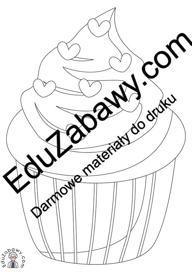 Kolorowanki: Ciasta i muffinki (10 szablonów) Dzień Piekarzy i Cukierników Kolorowanki Kolorowanki (Dzień Piekarzy i Cukierników)