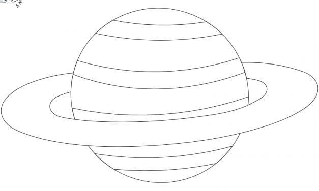 Kolorowanki: Planety (10 szablonów)