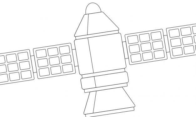 Kolorowanki: Satelity (10 szablonów)