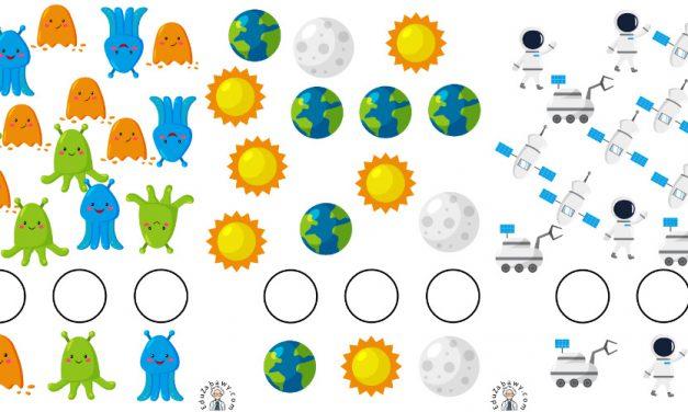 Kosmos: Bystre oczko (10 kart pracy)