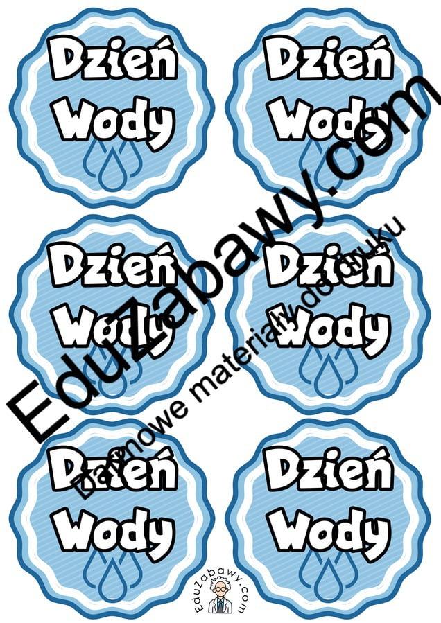 Medale na Dzień Wody Dyplomy i medale (Dzień Wody) Dzień Wody Marzec Tematyczne