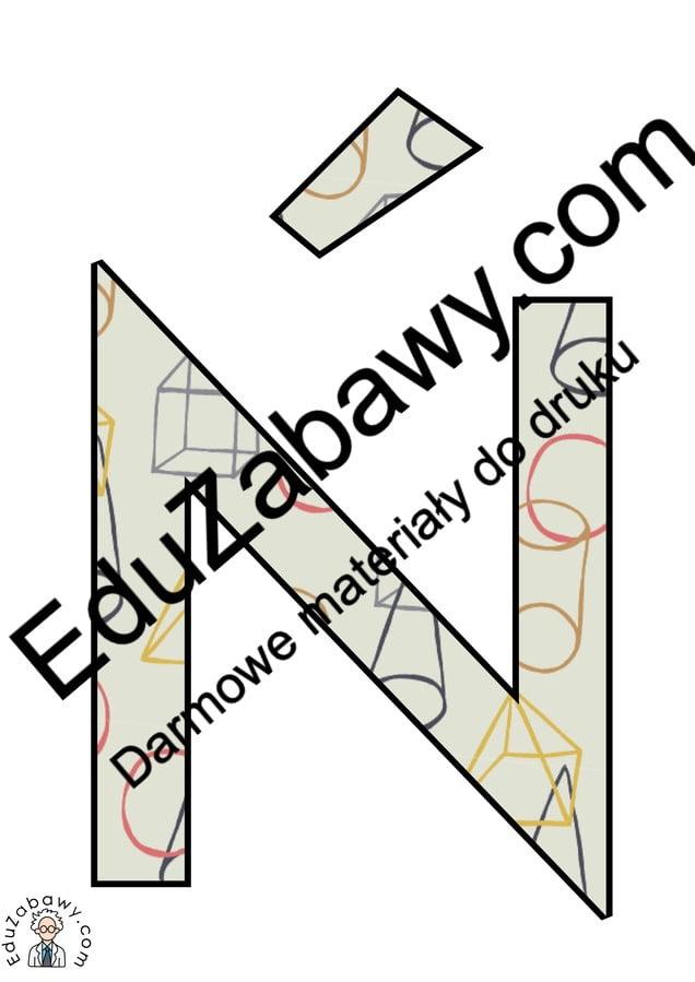 Napis Dzień Matematyki w figury geometryczne Dzień Matematyki Napisy (Dzień Matematyki)