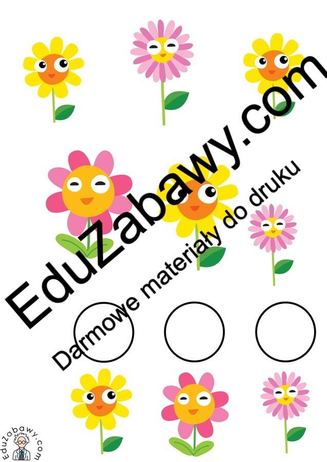 Wiosna: Bystre oczko (10 kart pracy) Bystre oczko Karty pracy Karty pracy (Wiosna) Wiosna